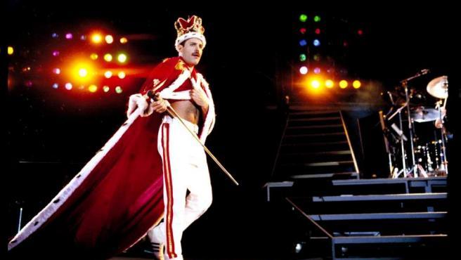 Freddie Mercury, cantante de Queen.