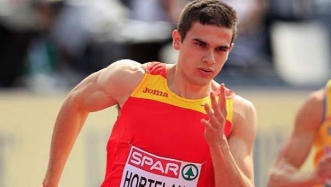 El atleta español Bruno Hortelano.