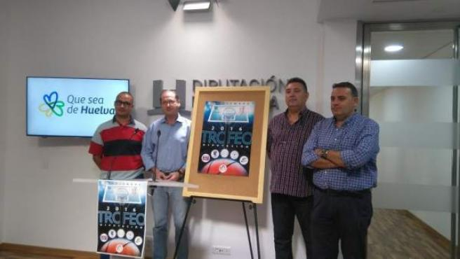 Trofeo de baloncesto de Diputación de Huelva.