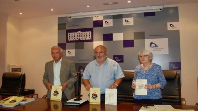Presentación de los dos nuevos libros de Soria