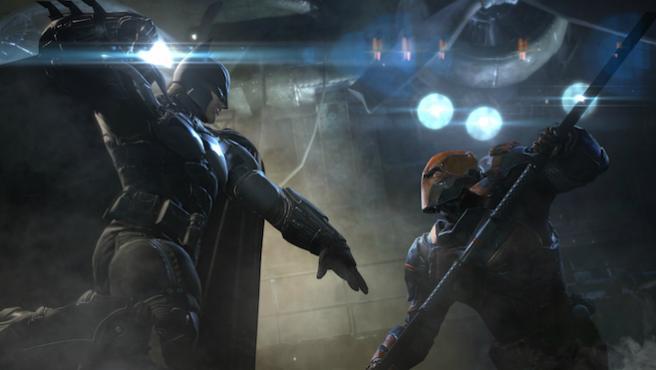 Vídeo: La batalla digital de Batman, Deathstroke... y el director de 'Deadpool'