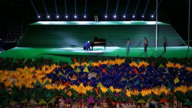Abertura de los Paralímpicos 2016, el 7 de septiembre de 2016 en el Maracaná de Río de Janeiro.