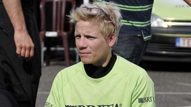 La deportista paralímpica belga Marieke Vervoort, en 2012.