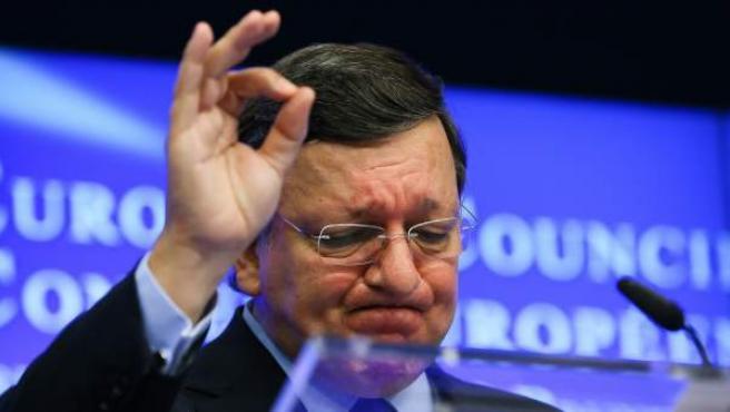 El presidente de la Comisión Europea, Jose Manuel Durao Barroso.