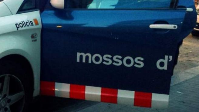 Imagen de un vehículo de los Mossos d'Esquadra