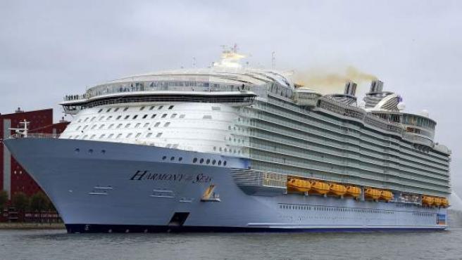 Harmony of Seas, el mayor buque de crucero del mundo.