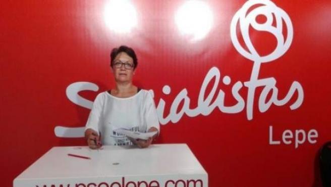 María Bella Martín del PSOE de Lepe