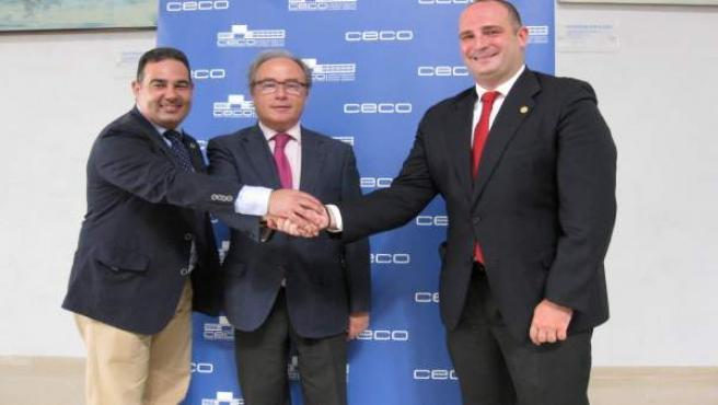 Díaz, entre los responsables de BNI Andalucía Centro