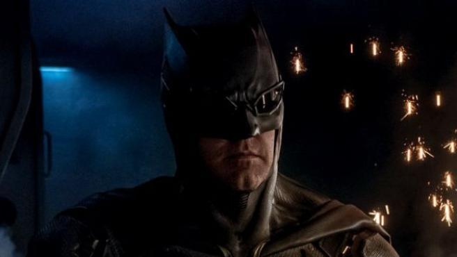 Primer vistazo al nuevo traje de Batman en 'La Liga de la Justicia'
