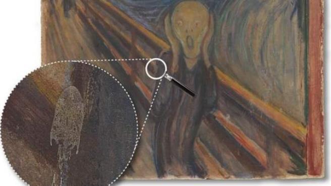 Investigadores han descubierto qué son las misteriosas manchas blancas en 'El Grito', el cuadro más famoso de Edvard Munch.