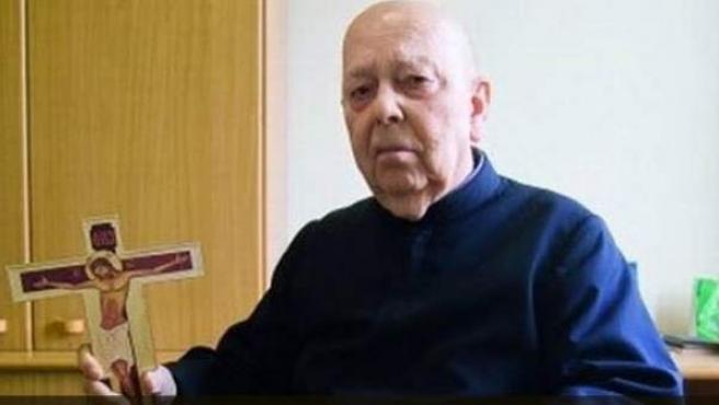 Gabriele Amorth, sacerdote y exorcista italiano de gran fama en el Vaticano.