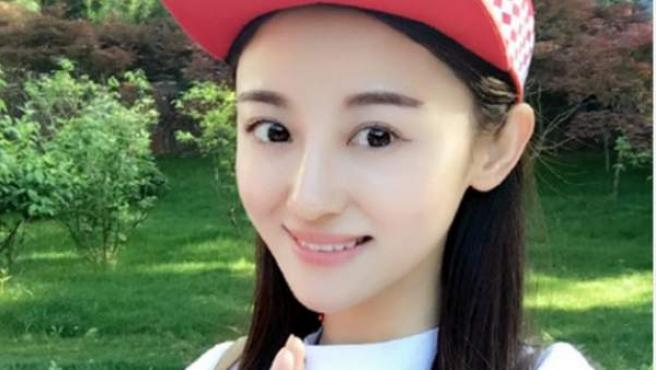 Xu Ting, actriz china fallecida a causa de un linfoma.
