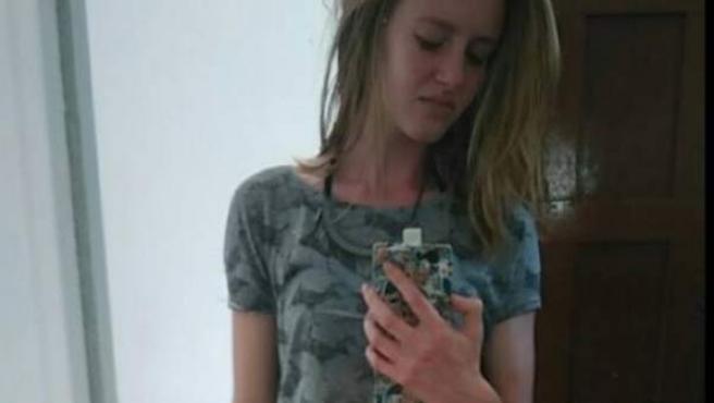 Maude Vallet, una de las chicas agredidas en Francia por llevar pantalón corto.