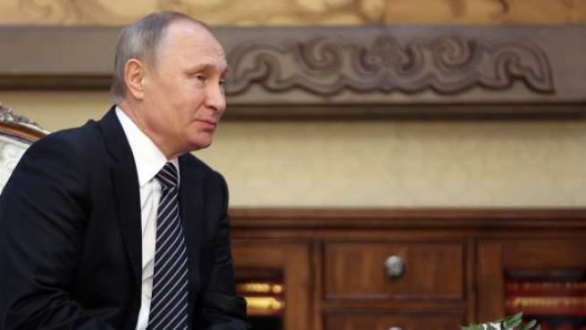 Putin, en un encuentro este sábado 17 de septiembre en Kyrgyzstán.
