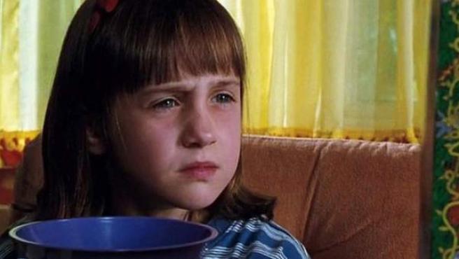 Mara Wilson, actriz que interpretó Matilda en el cine.