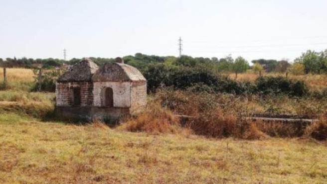 Pilares mudéjares en Cartaya (Huelva)