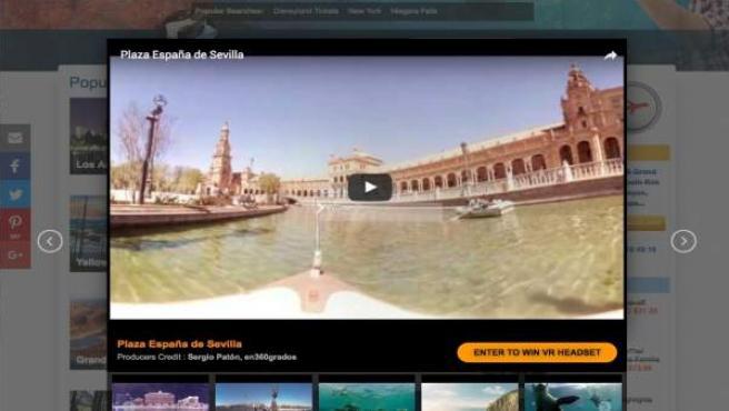 'Realidad Virtual' Para Conocer Sevilla.