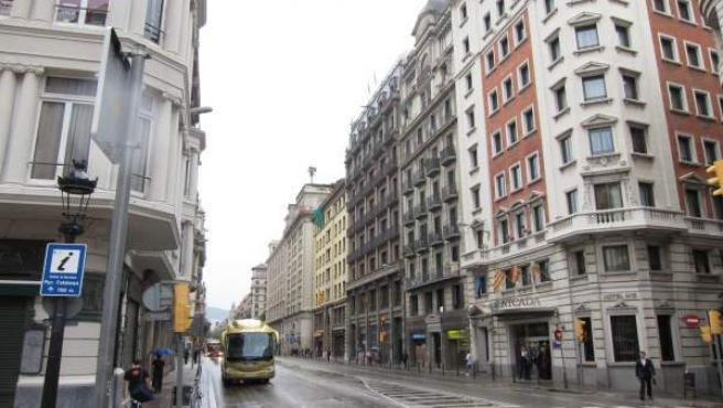 Via Laietana De Barcelona