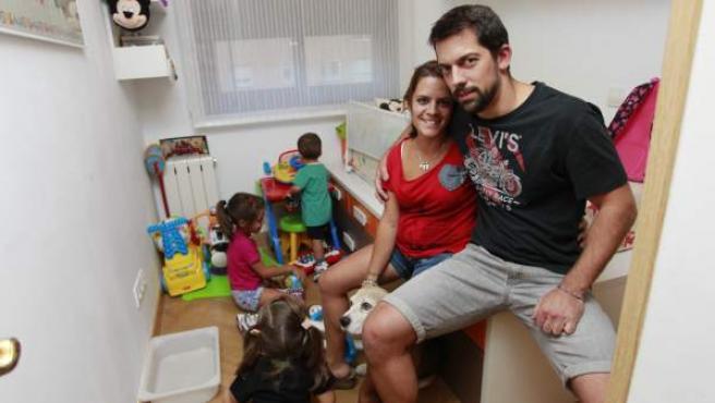 Ignacio y Johana tienen tres hijos de 7, 4 y 1 año.