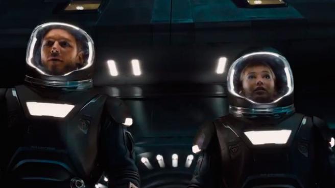 Primer tráiler de 'Passengers': Romance y acción en mitad del cosmos