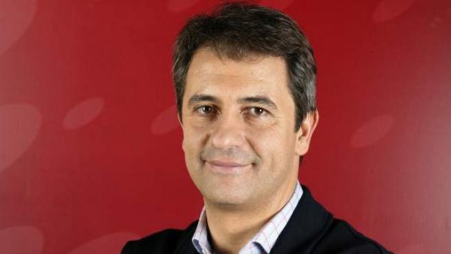 Manolo Lama, comentarista deportivo de la Cadena COPE y de la cadena de televisión Cuatro.