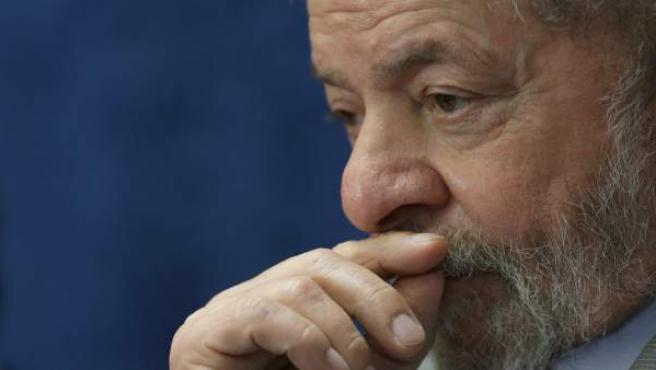 Lula da Silva, en una sesión del Parlamento en Brasil.