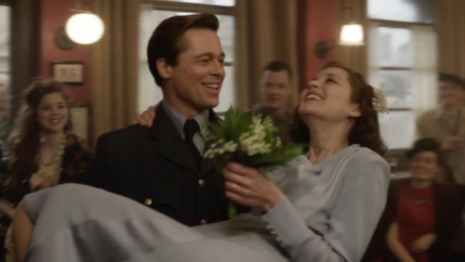 Brad Pitt y Marion Cotillard se casan en el nuevo spot de 'Aliados'