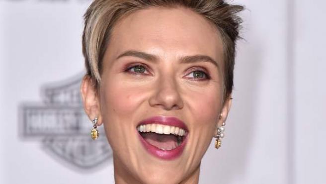 La actriz en la premiere en Los ángeles de la segunda entrega de 'Los Vengadores'.