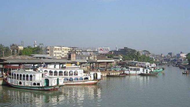 Barisal, en Bangladesh.