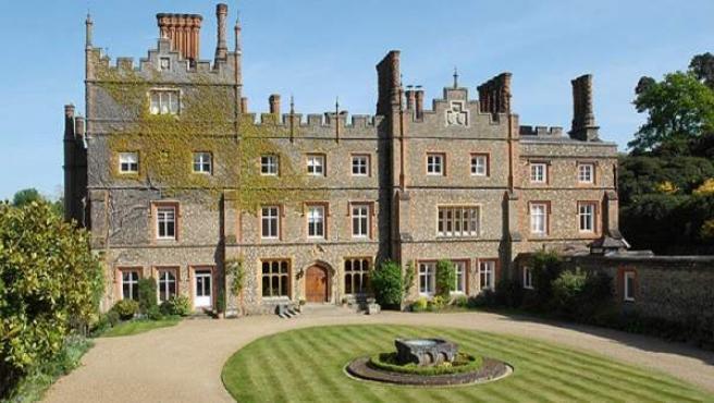 Albury Park Mansion, en Surrey, sudeste de Inglaterra.