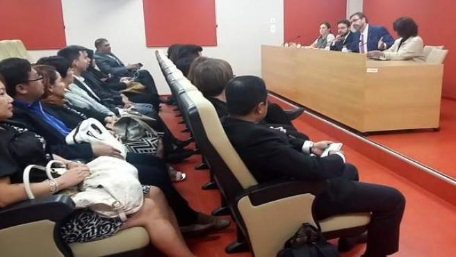 Clausura del curso dirigido a directivas de Malasia.