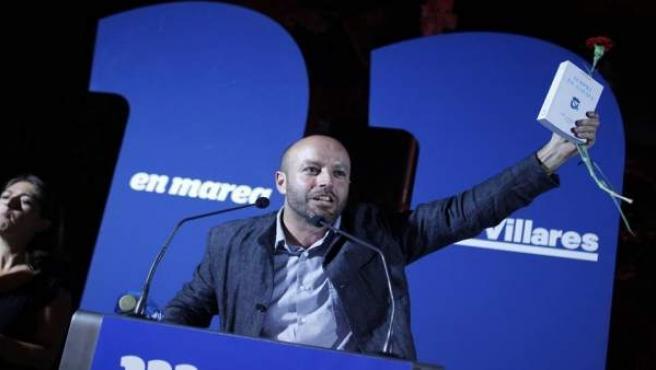 Luís Villares, candidato de En Marea a la Presidencia de la Xunta