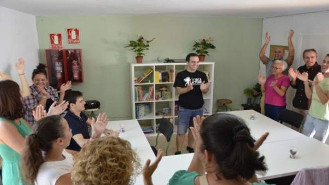 NP. FOTOS. Inauguración Del Aula De Integración De La ONGD Tetoca Actuar