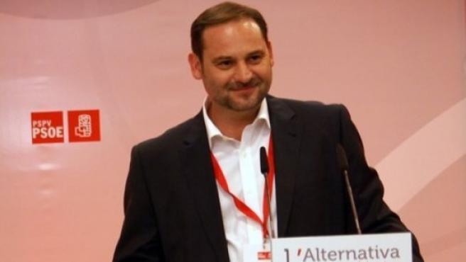 José Luis Ábalos, diputado socialista y portavoz de Medio Ambiente.