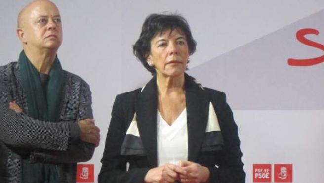 Isabel Celaá, presidenta de la Comisión de Garantías. Fue exconsejera vasca y exparlamentaria autonómica del PSE y apoya en bloque a Sánchez.