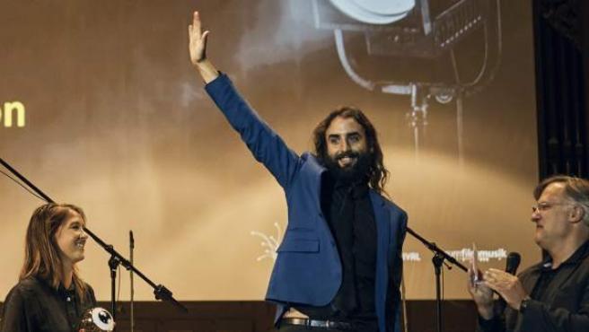 Imagen del compositor catalán Javier Bayon en el Festival de Cine de Zürich