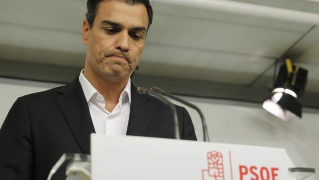 Pedro Sánchez, en su comparecencia de este 30 de septiembre.