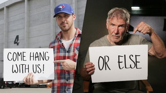 ¿Quieres ir al set de 'Blade Runner 2' con Ryan Gosling?