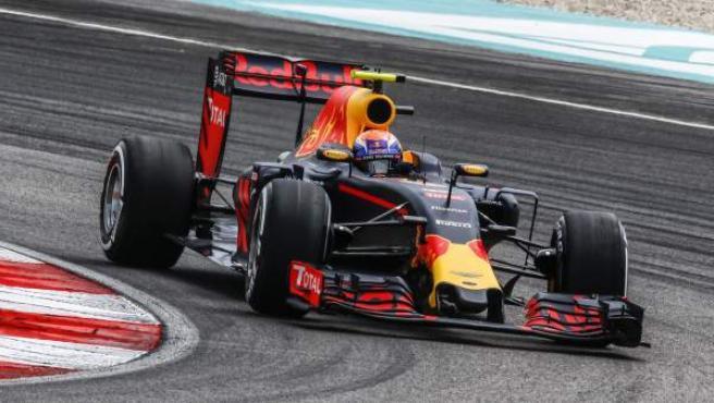 El piloto australiano Daniel Ricciardo, en el GP de Malasia.