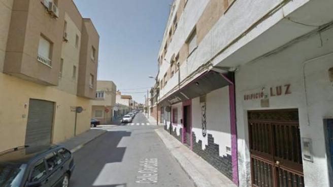 Imagen de la calle Córdoba en El Ejido, Almería.