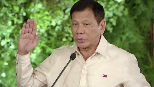 El presidente de Filipinas, Rodrigo Duterte, en una imagen del pasado mes de junio.