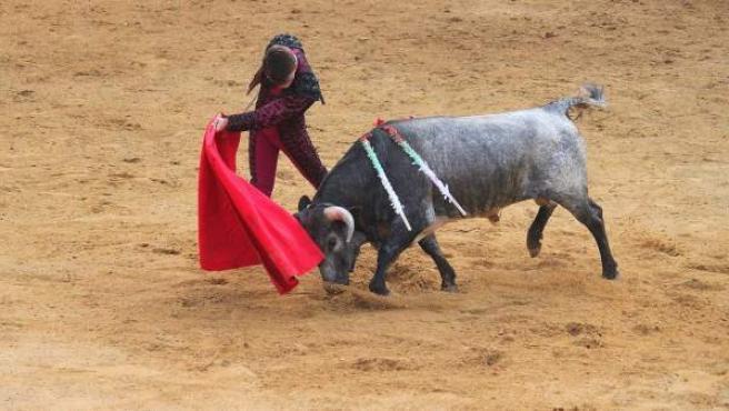 Lance en una corrida de toros.