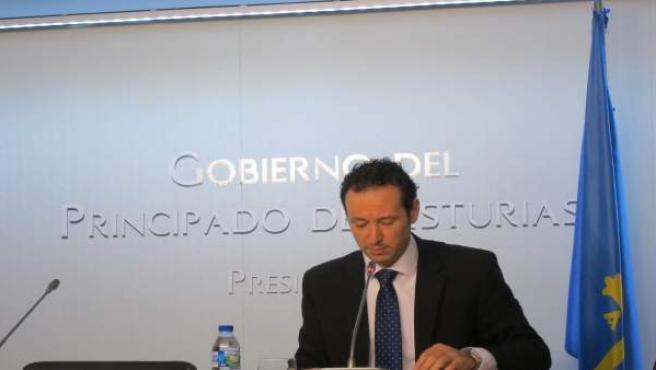El consejero de presidencia asturiano, Guillermo Martínez