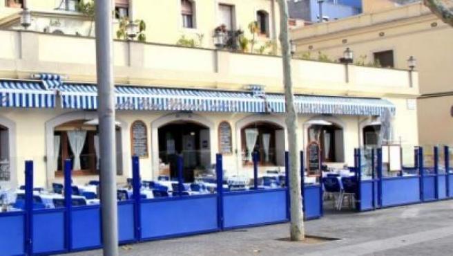 Imagen del exterior del restaurante Can Manel, en el Passeig Joan de Borbó de Barcelona.