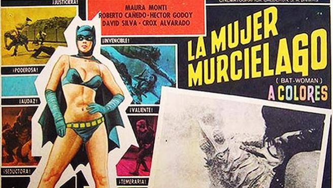 ...Y el Batman mexicano se hizo mujer