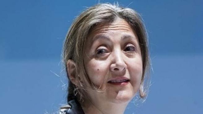 La exrehén de las FARC, Ingrid Betancourt.