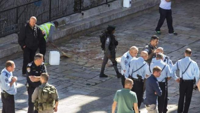 Imagen de archivo de un ataque en Jerusalén.