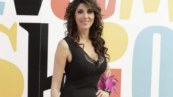 Una imagen de archivo de la presentadora Paz Padilla.