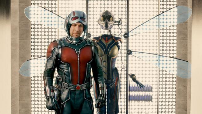 Así será el equipo formado por Ant-Man y la Avispa