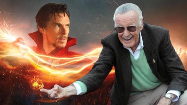 Stan Lee tendrá un cameo en 'Doctor Strange' y ya sabemos lo que hace